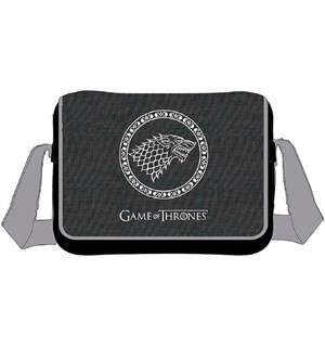 Game of Thrones Messenger Bag Stark Original høy kvalitet 40 x 30 cm