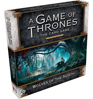 Game of Thrones TCG Wolves of the North Utvidelse til Game of Thrones Card Game