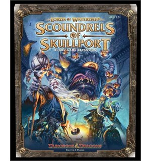 Lords of Waterdeep Scoundrels Expansion Scoundrels of Skullport tilleggspakke