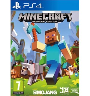Minecraft Bedrock Edition PS4 Startpakke med 100 tokens
