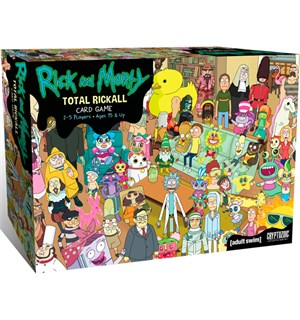 Rick and Morty Total Rickall Kortspill