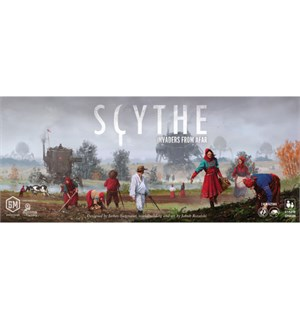 Scythe Invaders From Afar Expansion Utvidelse til Scythe Brettspill