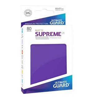 Sleeves Supreme Lilla Matte x80 66x91 Ultimate Guard Kortbeskytter/DeckProtect