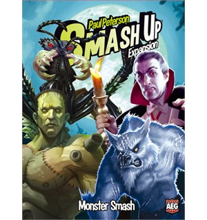 Smash Up Monster Smash Brettspill Standalone utvidelse til Smash Up