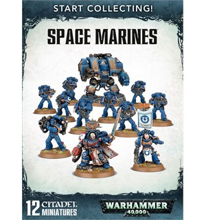 Space Marines Start Collecting! Warhammer 40K