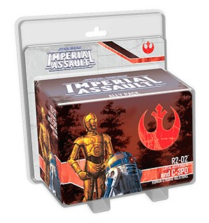 Star Wars IA R2-D2 + C-3PO Ally Pack Imperial Assault