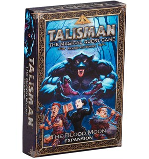 Talisman The Blood Moon Expansion Utvidelse til Talisman Revised 4th Ed