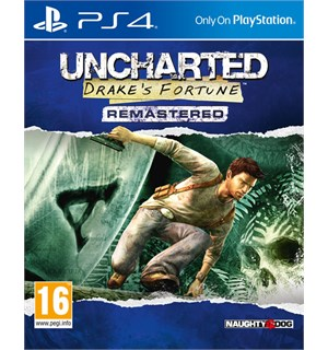 Uncharted 1 Drake's Fortune Remaster PS4 Drakes Fortune