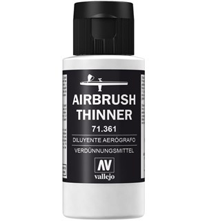 Vallejo Airbrush Thinner 60ml 71.361 Malingstynner
