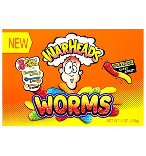 Warheads Worms 113 g