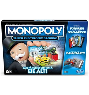 Monopoly Super Electronic Banking Norsk Utgave