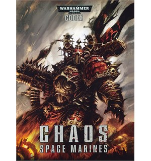 Chaos Space Marines Codex 2016 Edition Warhammer 40K