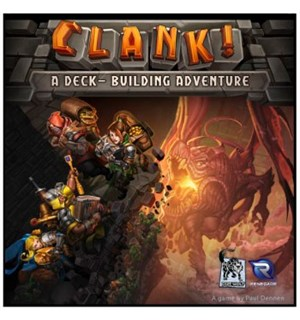Clank Kortspill A Deck-Building Adventure