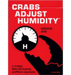 Crabs Adjust Humidity Volume One Uoffisiell utvidelse til Cards Against
