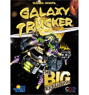 Galaxy Trucker The Big Expansion Utvidelse til Galaxy Trucker