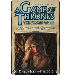 Game of Thrones Dance with Dragons Exp. Utvidelse til Brettspillet 2nd Edition