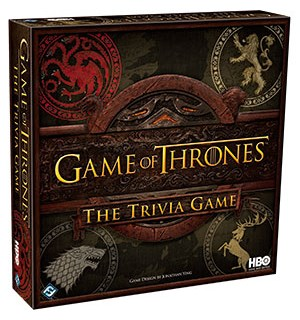 Game of Thrones Trivia Game Kortspill Test kunnskapene dine om TV-serien!