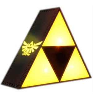 Legend of Zelda Tri Force Lampe 20cm
