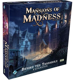 Mansions of Madness Beyond the Threshold Utvidelse til Mansions of Madness 2nd Ed
