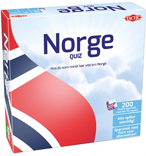 Norge Quiz Brettspill