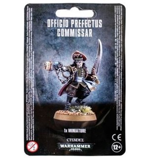 Officio Prefectus Commissar Warhammer 40K