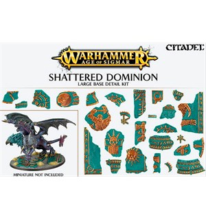 Shattered Dominion Large Base Detail Warhammer Age of Sigmar