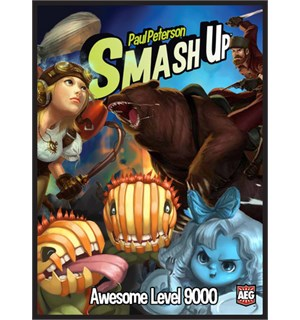 Smash Up Awesome Level 9000 Brettspill Standalone utvidelse til Smash Up
