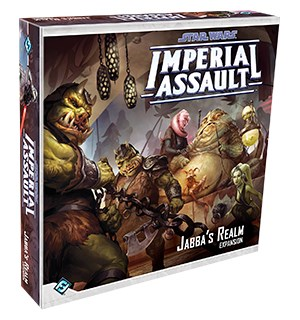 Star Wars IA Jabbas Realm Expansion Utvidelse til Star Wars Imperial Assault