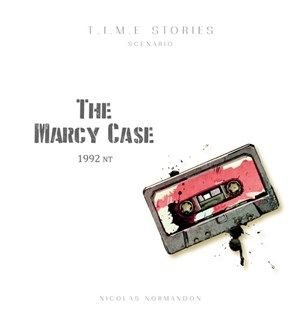 Time Stories The Marcy Case Expansion Utvidelse til Time Stories Brettspill