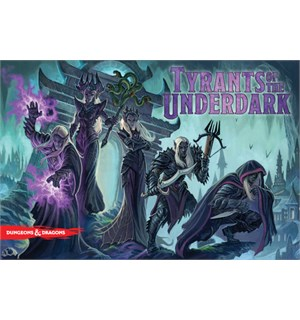 Tyrants of the Underdark Brettspill Dungeons & Dragons