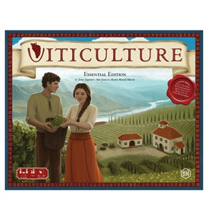 Viticulture Essentials Ed Brettspill Essentials Edition