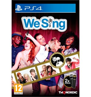 We Sing Bundle med 2 mikrofoner PS4 Inkluderer 2 USB mikrofoner