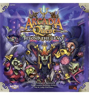 Arcadia Quest Beyond the Grave Expansion Utvidelse til Arcadia Quest Brettspill