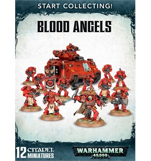 Blood Angels Start Collecting Warhammer 40K