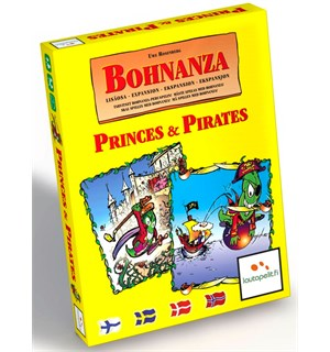 Bohnanza Princes and Pirates Kortspill Norsk 2 stk Frittstående Bohnanza spill