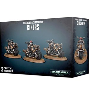Chaos Space Marines Bikers Warhammer 40K