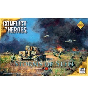 Conflict of Heroes Storms of Brettspill Storms of Steel 3rd Edition