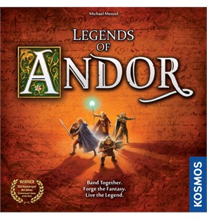Legends of Andor Brettspill Second Edition