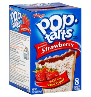 Pop Tarts Strawberry 8 stk Frosted Strawberry
