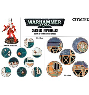 Sector Imperials 25/40mm Round Bases