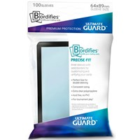 Sleeves Bordifies(ramme)Svart x100 64x89 Ultimate Guard DeckProtector m/marger
