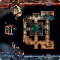 Star Wars Coruscant Landfill SkirmishMap Star Wars Imperial Assault Playmat 66x66