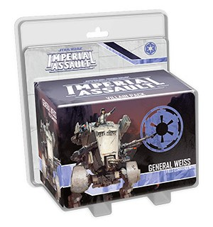 Star Wars IA General Weiss Villain Pack Imperial Assault