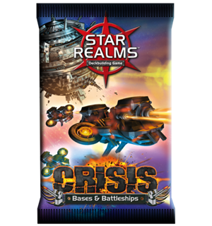 Star Realms Crisis Bases and Battleships Expansion/Utvidelse til Star Realms