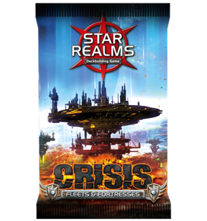 Star Realms Crisis Fleets and Fortresses Expansion/Utvidelse til Star Realms