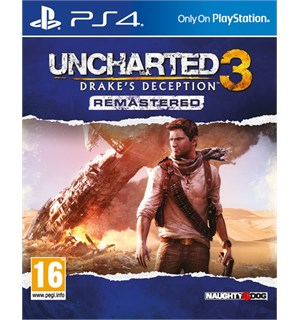 Uncharted 3 Remastered PS4 Drakes Deception