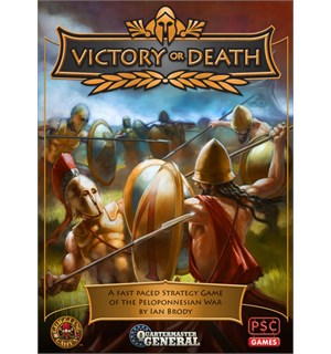 Victory or Death Brettspill Quartermaster General Peloponnesian War
