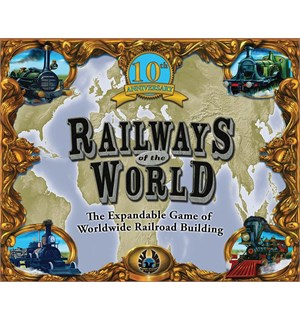 Railways of the World 10th Brettspill 10th anniversary edition