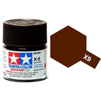 Akrylmaling MINI X-9 Brown Tamiya 81509 - 10ml
