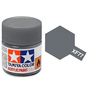 Akrylmaling MINI XF-77 IJN Gray Tamiya 81777 - 10ml